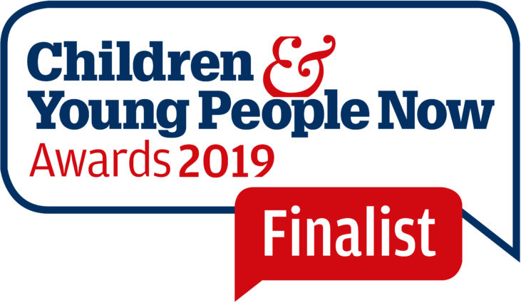 Children & Young People Now Awards 2019 logo